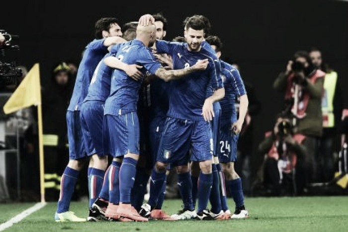 Italy one spot below on new FIFA rankings