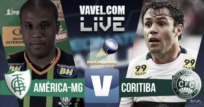 Resultado: América-MG x Coritiba pelo Brasileirão (2-1)