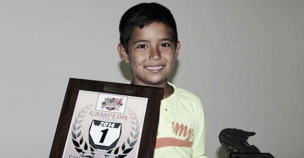 Gael Minjarez, la promesa que nació en 2014