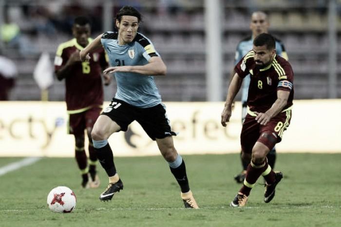 Uruguai empata com Venezuela e adia classificação para última rodada