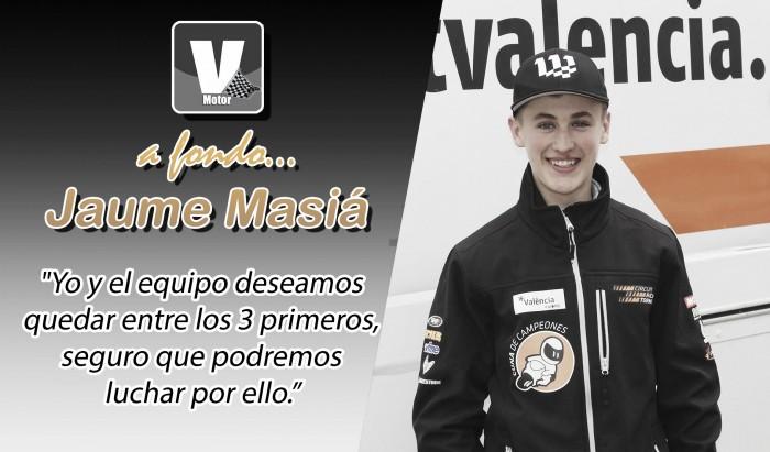 """Jaume Masiá, a fondo: """"Voy mejorando, pero aún llevo 7 kilos de lastre"""""""