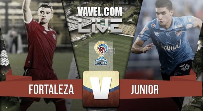 Resultado Fortaleza CEIF - Junior en Liga Águila 2016-I (1-2)
