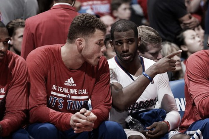 Blake Griffin, Chris Paul out for the remainder of the NBA Playoffs