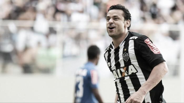 Pelo Atlético-MG, Fred cumpre promessa e comemora gol contra Cruzeiro; assista