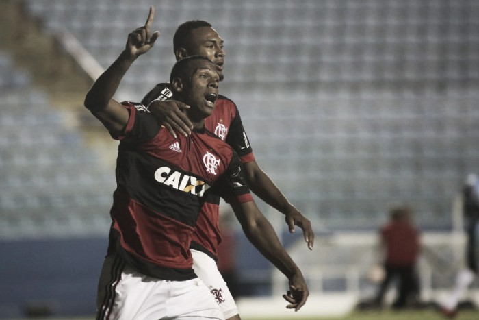 Resultado Flamengo x Aimoré pela Copa São Paulo de Futebol Júnior (1-1)