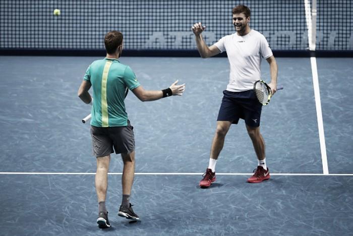 ATP World Tour Finals: Harrison/Venus book their spot in the semifinals