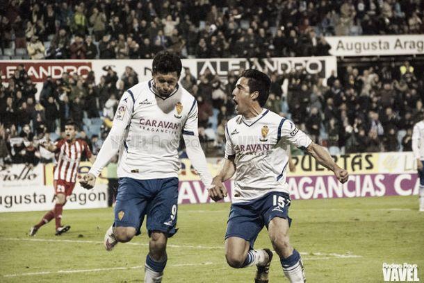 Fotos e imágenes del Real Zaragoza - Girona FC de la 17ª jornada de la Liga Adelante