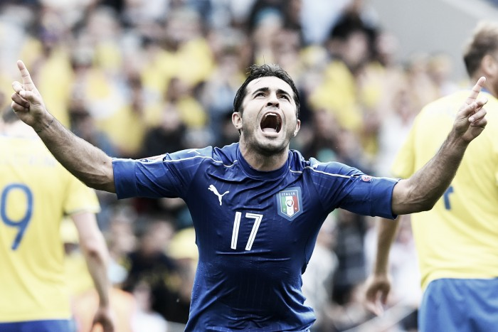 Italy 1-0 Sweden: Late Eder wonder goal sends Italians through to last 16