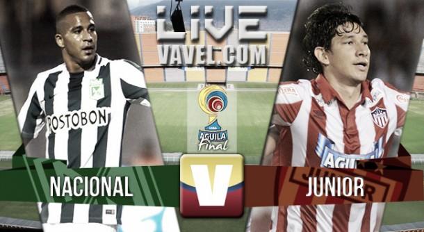 Resultado Nacional - Junior en final Liga Águila 2015 (1-0 Penales: 3-2)