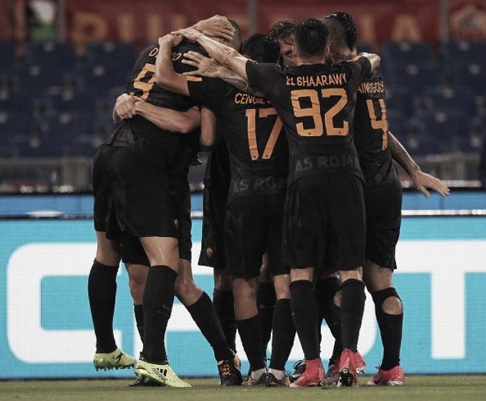 Dzeko marca dois, Roma domina Hellas Verona e sobe na tabela da Serie A