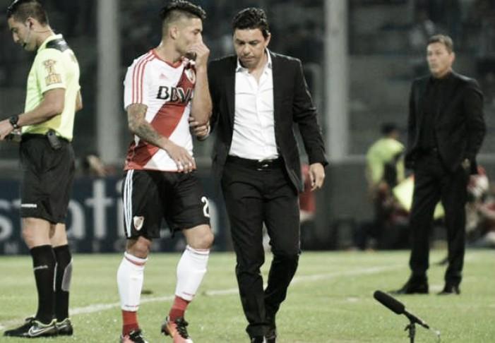 River jugará sin Casco ante los sanjuaninos