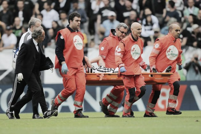 Marchisio has successfully undergone surgery, faces six months out
