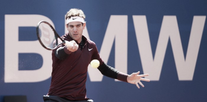 ATP Munich: Juan Martin del Potro through to quarters