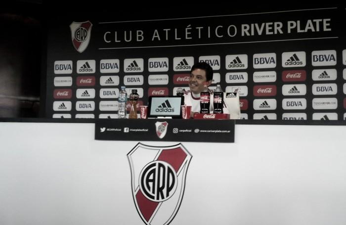 """Gallardo: """"En los partidos que jugamos en el semestre nos fuimos con muy buenas sensaciones"""""""