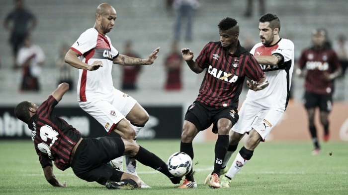 Em duelo antagônico, Vitória e Atlético-PR se encontram no Barradão