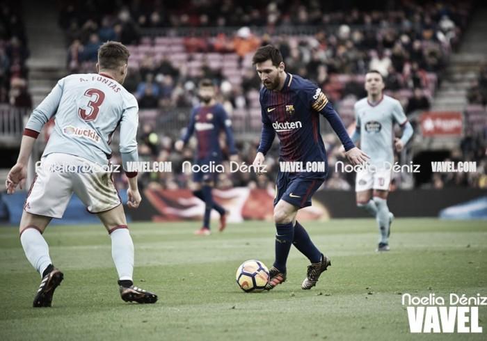 El Celta, próximo rival a batir del Barça en la Copa