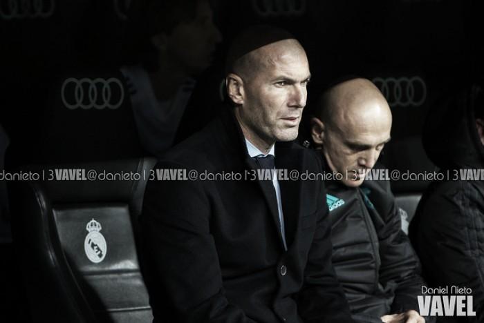 """Zidane: """"Estoy muy decepcionado por los jugadores, por el esfuerzo que han hecho"""""""