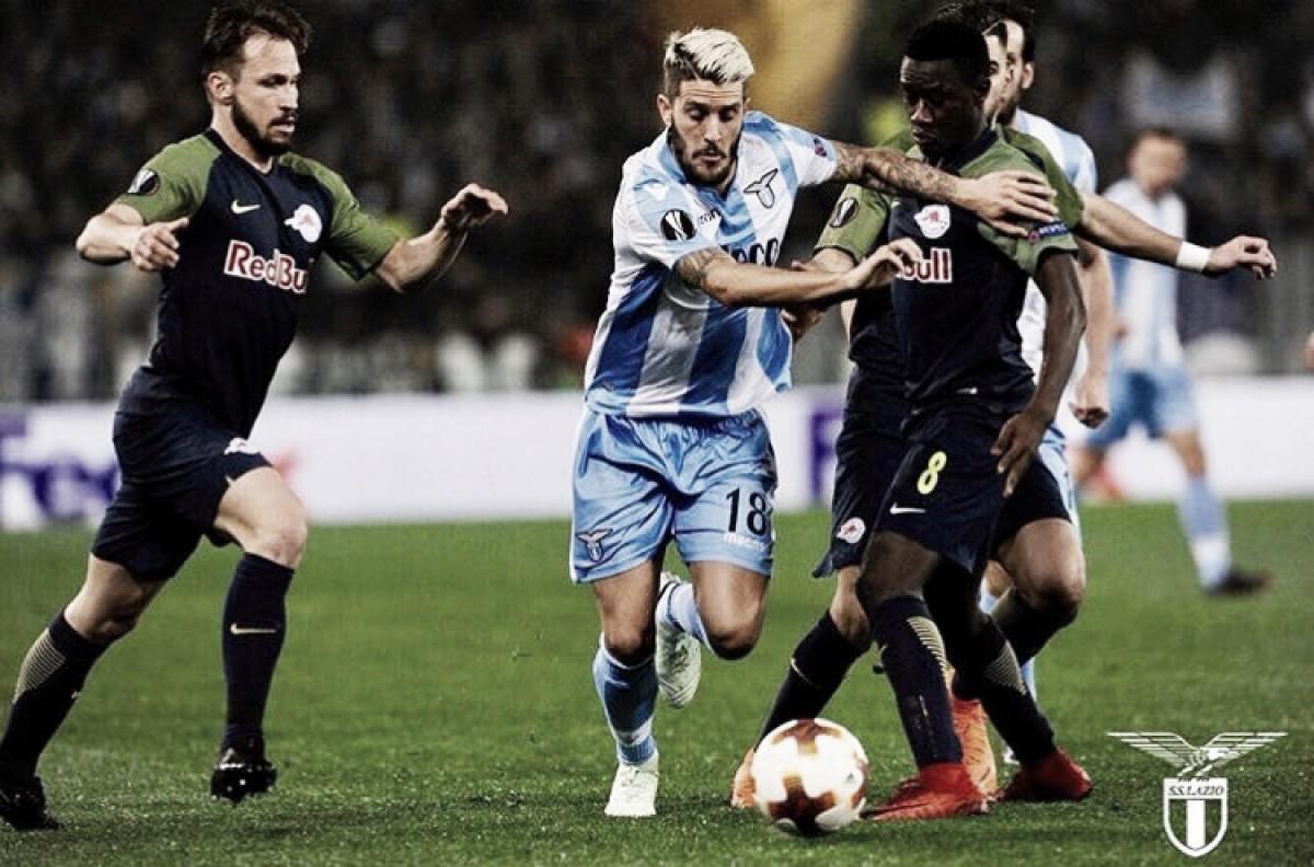 Derrota para Lazio decreta fim de invencibilidade histórica do RB Salzburg em competições da Uefa