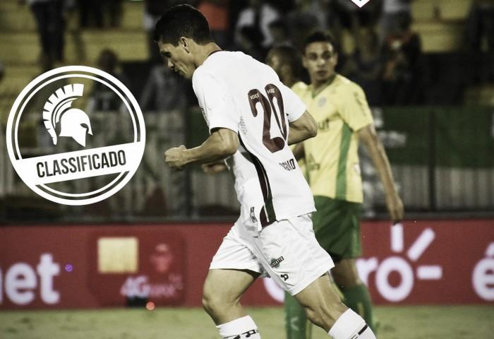 """Após vitória, Magno Alves comemora vaga: """"Partida difícil, mas estamos classificados"""""""