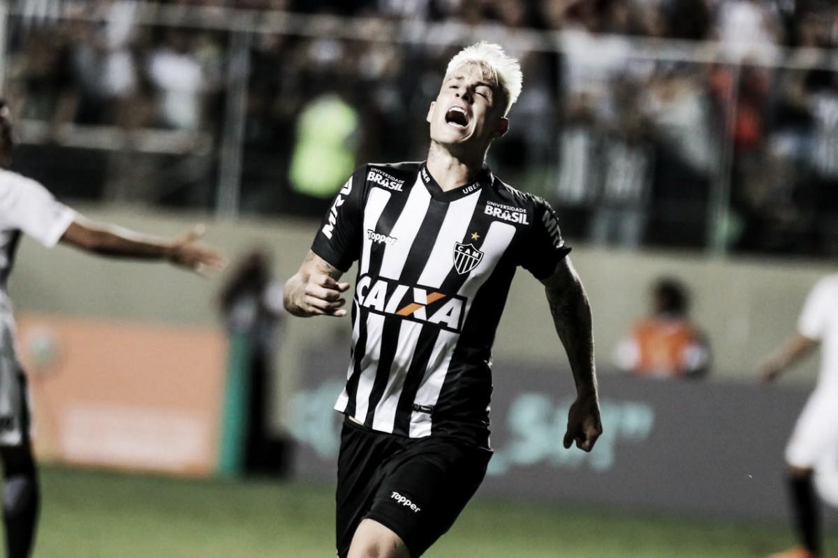 Após cobranças da torcida, Róger Guedes celebra gol e vitória sobre o Corinthians