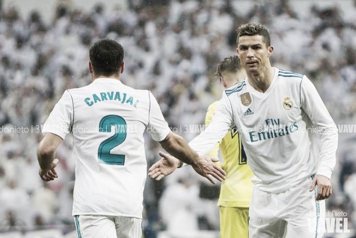 El Madrid lucha contra su propia sombra