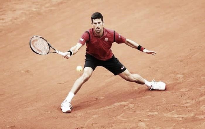 Djokovic vence em sets diretos e avança para a segunda rodada de Roland Garros