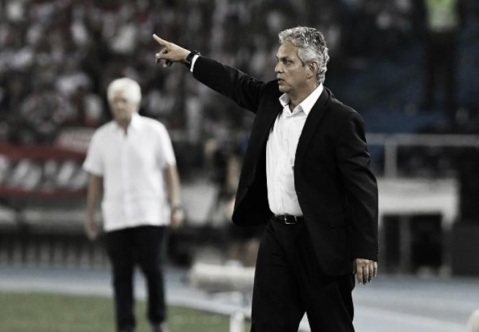 """Rueda celebra vaga garantida na Libertadores e exalta fala de Diego: """"Disse que ia até a morte"""""""