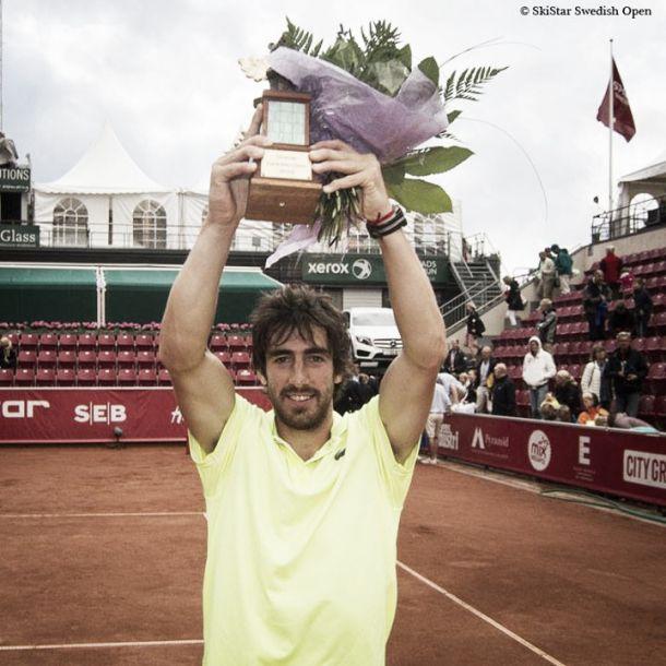 Pablo Cuevas se consagró campeón en Suecia