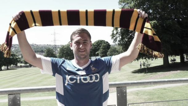 New signing targeting play-offs for Bradford
