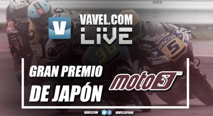 Carrera GPde Japón2017de Moto3 en vivo y en directo online