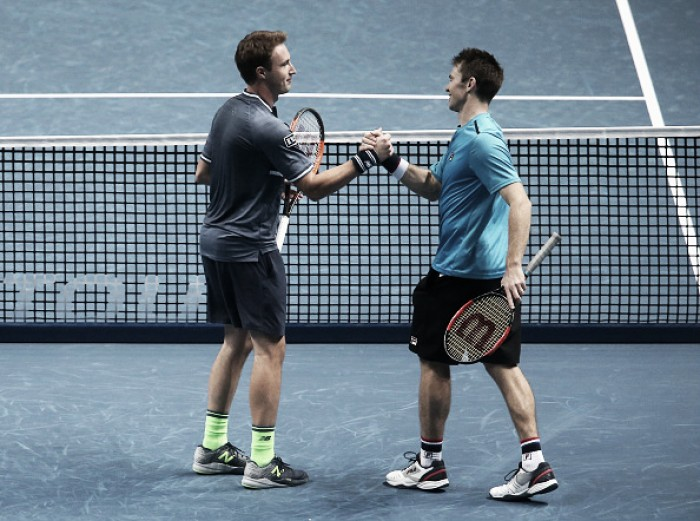 ATP World Tour Finals: Kontinen/Peers defeat alternates Klaasen/Ram