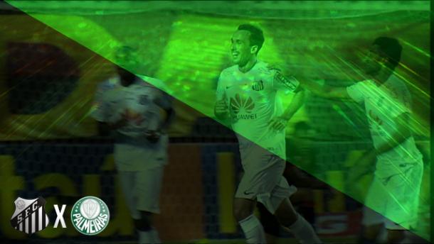 Gol do Santos que livrou Palmeiras do rebaixamento foi o pontapé inicial para decisão da Copa do Brasil