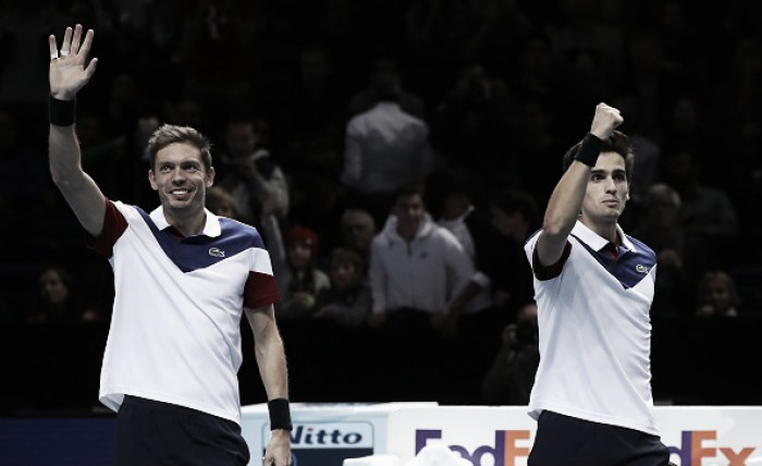 ATP World Tour Finals: Herbert/Mahut come from a set down to win group opener
