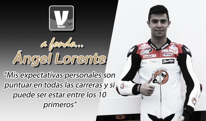 """Ángel Lorente, a fondo: """"Mi fuerte son las salidasy a mitad de carrera tengo un extra"""""""