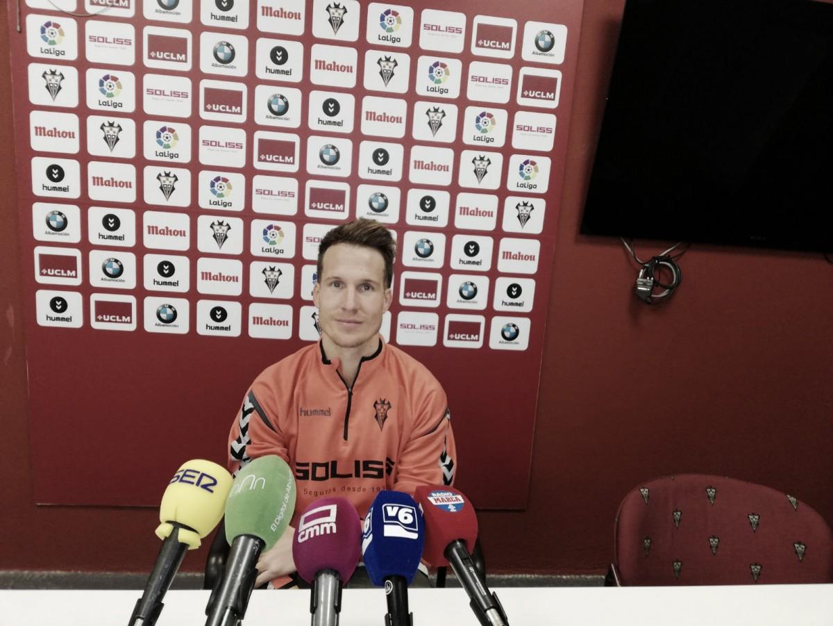 """Néstor Susaeta: """"Estamos recuperando entre todos la ilusión en este equipo"""""""