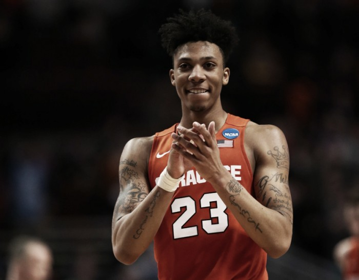 Malachi Richardson declares for NBA Draft, will not hire agent
