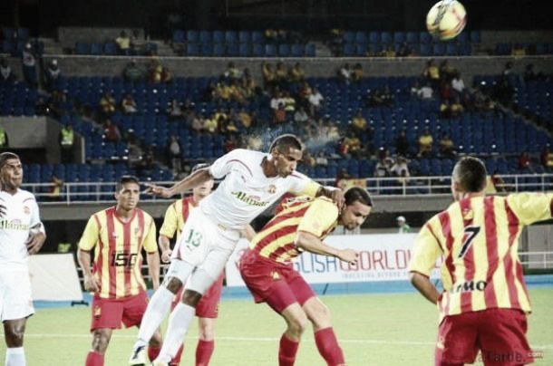 Pereira perdió puntos en Barranquilla