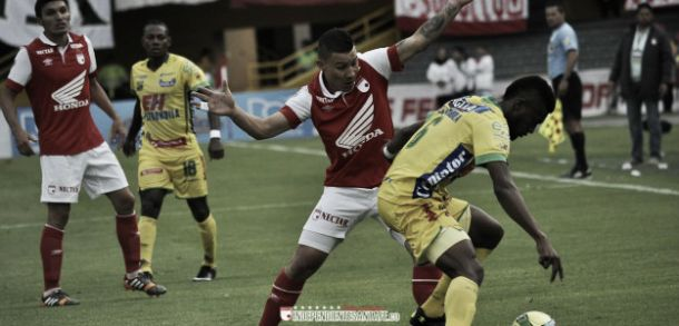 Huila vs Santa Fe, en vivo online por cuadrangulares de la Liga Postobón 2014