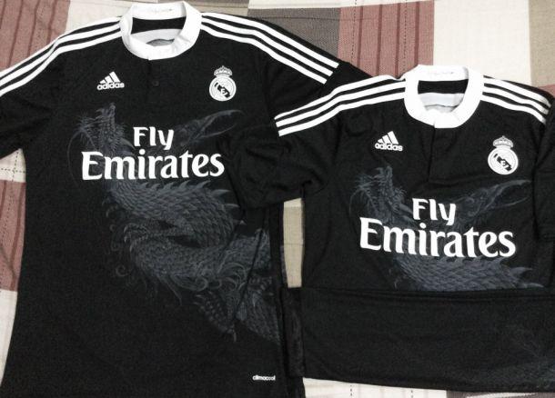 Real Madrid inova em terceiro uniforme para a temporada