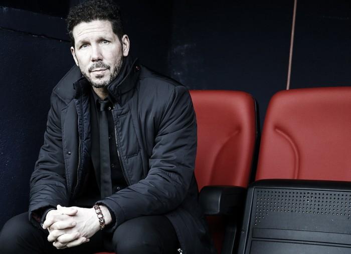 """Simeone: """"Foi um jogo importante para nós pela forma como conduzimos bem o resultado"""""""