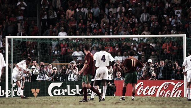 Portugal en la Eurocopa 2000: a tres minutos de la final