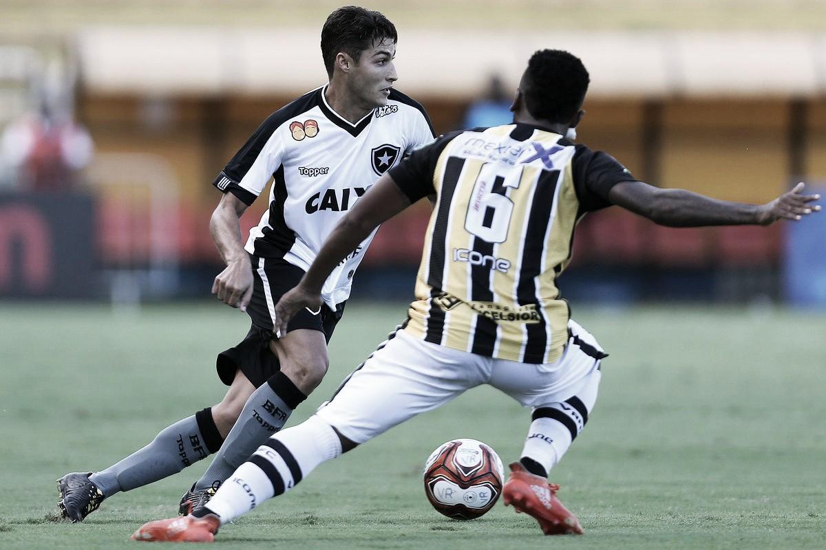 Botafogo empata com Volta Redonda e permance no terceiro lugar do Grupo C da Taça Rio