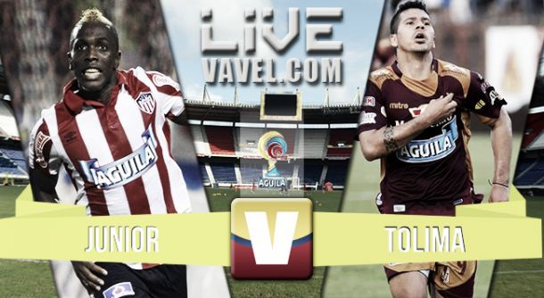 Resultado Junior - Tolima en la Liga Águila 2015 (1-0)
