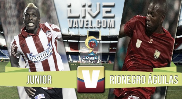 Atlético Junior vsRionegroÁguilasen vivo yen directo online por la Liga Águila 2016 II