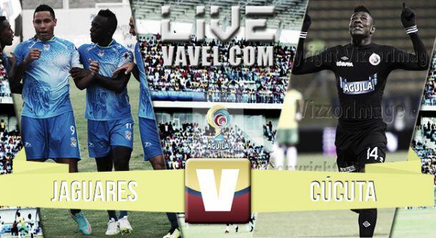 Resultado Jaguares - Cúcuta (1-1)