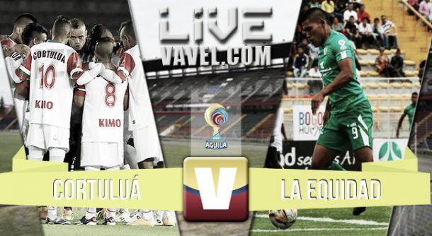 Resultado Cortuluá - Equidad en la Liga Águila 2015 (0-0)