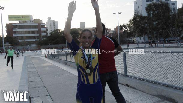 Valentina García, promesa del patinaje colombiano