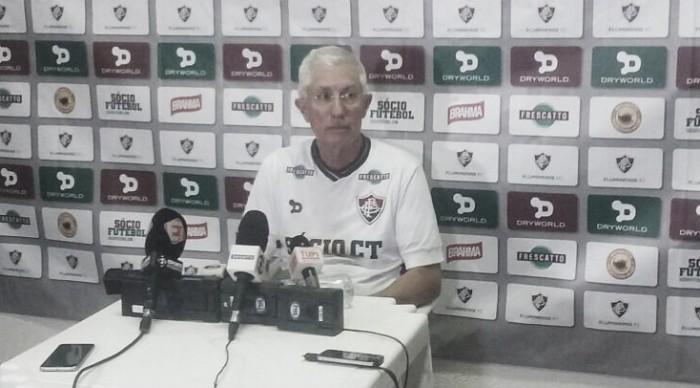 """Pedro Antônio, sobre nome do CT:""""Quem não gostaria de ser eternizado pelo Fluminense?"""""""
