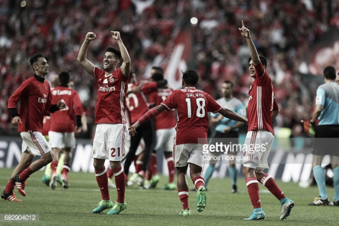 Benfica x V. Guimarães Para celebrar, até deu para massacrar