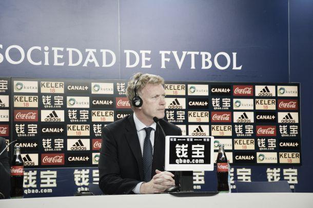 """David Moyes: """"Hemos mejorado, pero nos falta el gol"""""""